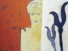 ohne Titel II, 2007, Acryl/Leinwand, 110x80