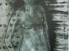 Akt stehend, 2005, Acryl/Leinwand, 50x50