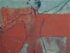 Allegorie Waage, 2005, Acryl/Leinwand, 50x50