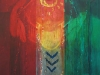Tanzende Indianerin, 2004, Acryl/Leinwand, 120x160