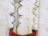 ohne Titel II, 2006, Acryl/Leinwand, 160x50
