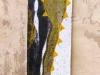 ohne Titel VII, 2008, Acryl/Leinwand, 160x50