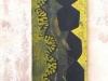 ohne Titel VIII, 2008, Acryl/Leinwand, 160x50