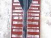 ohne Titel XI , 2007, Acryl/Leinwand,160x50